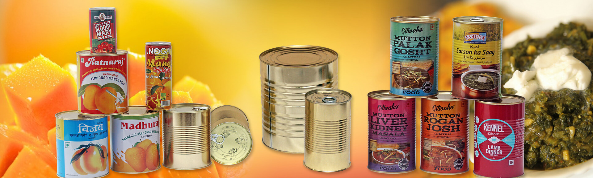 Tins And Cans Foods Packaging Industries